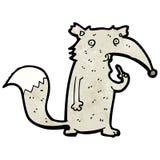Funny cartoon wolf Stock Photography