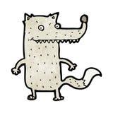 Funny cartoon wolf Royalty Free Stock Image