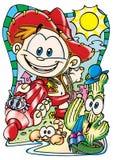 Funny cartoons Stock Photo