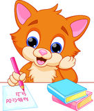 Funny cat cartoon Royalty Free Stock Photography