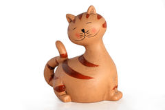 Funny cat figure Royalty Free Stock Photography