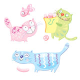 Funny Cats Royalty Free Stock Photography