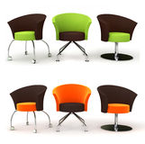 Funny chairs Royalty Free Stock Image