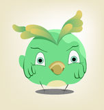 Funny character bird Royalty Free Stock Images