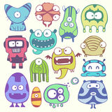 Funny characters Royalty Free Stock Image