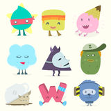 Funny characters Stock Photo