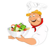 Funny Chef Stock Photo