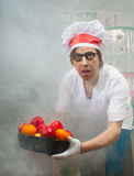 Funny chef Stock Images