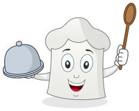Funny Chef Hat Character Stock Photography