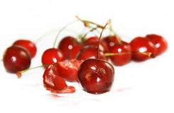 Funny cherries Royalty Free Stock Photos