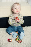Funny child Stock Photo