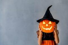 Halloween Pumpkin Autumn Holiday Concept Royalty Free Stock Image