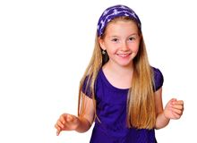 Funny Child laugh Royalty Free Stock Photography