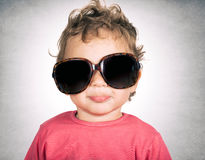 Funny child Royalty Free Stock Images