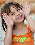 Funny Child Portrait Royalty Free Stock Photos