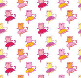 Funny child vector pattern for print Stock Images