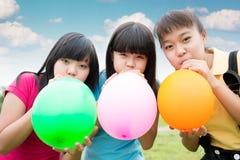 Funny children Stock Photo