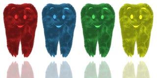 Funny children's teeth Stock Photo