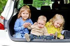 Funny children Stock Images