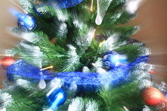 Funny Christmas background. Stock Image
