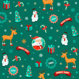 Funny Christmas Background Royalty Free Stock Photos