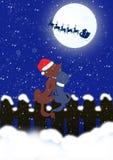 Funny Christmas card Stock Photos