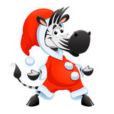 Funny Christmas character stock illustration