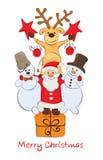 Funny Christmas Company Stock Image