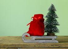 Funny Christmas composition Royalty Free Stock Images