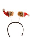 Funny Christmas headband Stock Image