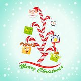 Funny Christmas Tree Stock Photo