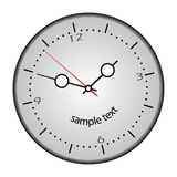 Funny clock. Royalty Free Stock Image