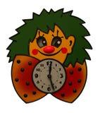 Funny clock Stock Photography