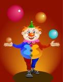 funny clown Royalty Free Stock Photos
