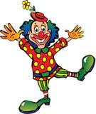 Funny clown. Stock Photo