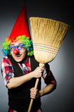Funny clown Royalty Free Stock Images