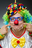 Funny clown in humor Royalty Free Stock Images