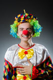 Funny clown Stock Photos