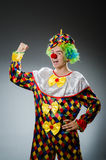 Funny clown in humor Royalty Free Stock Photography