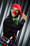 Funny clown in humorous concept Royalty Free Stock Image