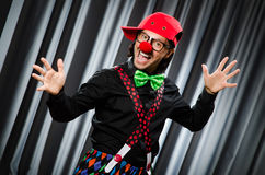 Funny clown in humorous concept Royalty Free Stock Images