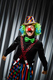 Funny clown in humorous concept Royalty Free Stock Photography