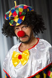 Funny clown in humorous concept Royalty Free Stock Photos