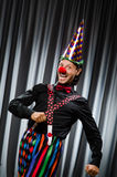 Funny clown in humorous concept Royalty Free Stock Photo