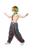 Funny clown Stock Photo