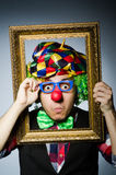 Funny clown Royalty Free Stock Photography