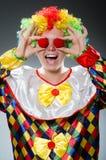 Funny clown Stock Photo