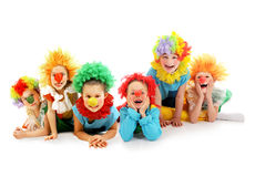 Funny clowns Royalty Free Stock Photography