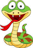 Funny cobra cartoon Stock Image