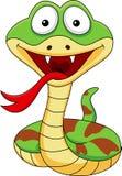 Funny cobra cartoon stock illustration